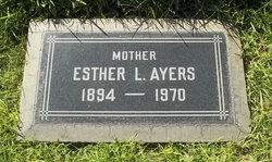 Esther Lillian <i>Bollinger</i> Ayers