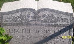 Elma O <i>Phillipson</i> Cole