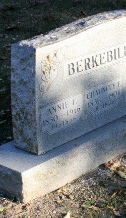 Lieut Chauncey F. Berkebile