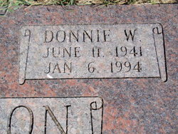 Donnie W. Anderson