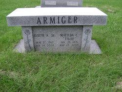 Matilda C Tillie <i>Lautenberger</i> Armiger