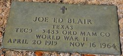 Joe Ed Blair