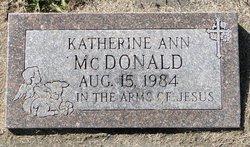 Katherine Ann McDonald