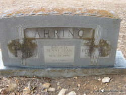 Benny Jean Sunshine Ahring