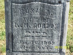 Rosa A Gordon