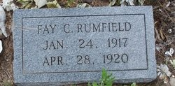 Fay Catherine Rumfield