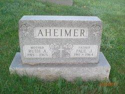 Ruth A <i>Hand</i> Aheimer