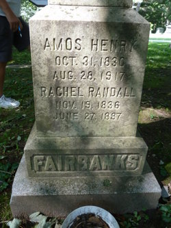 Rachel Marion <i>Randall</i> Fairbanks