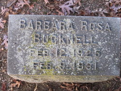 Barbara Rosa Bucknell