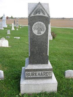 Christina <i>Snyder</i> Burkhardt