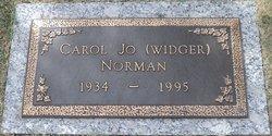 Carol Jo <i>Widger</i> Norman