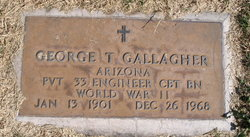 George T Gallagher