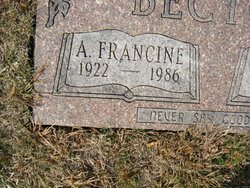 A Francine Becton