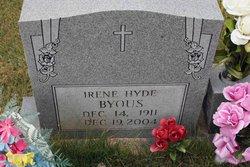 Irene <i>Hyde</i> Byous