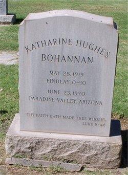 Katharine <i>Hughes</i> Bohannan