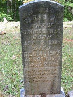 Sarah A. <i>Hensley</i> Godfrey