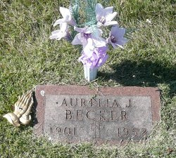 Aurelia Josephine <i>Calliott</i> Becker