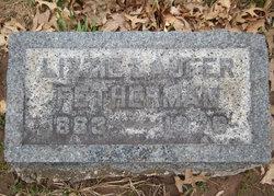 Elizabeth Jane Lizzie <i>Laufer</i> Fetherman