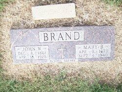 Mary Belle Mollie <i>Alvey</i> Brandt