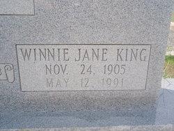 Winnie Jane <i>King</i> Wynne