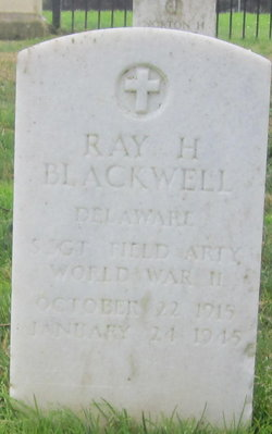Sgt Ray Henderson Blackwell
