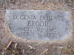 Eugenia Patience <i>Pierce</i> Brodie