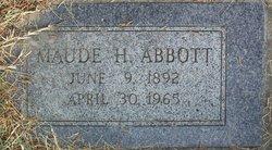 Maude <i>Hayes</i> Abbott