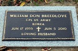 William Don Breedlove