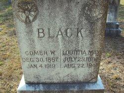 Loutitia May <i>Blackwell</i> Black