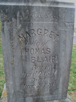 Margaret <i>Sanders</i> Blair