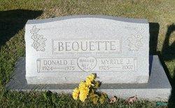 Myrtle Justine <i>Schlett</i> Bequette