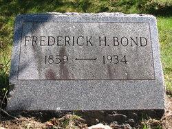 Fredrick H. Fred Bond