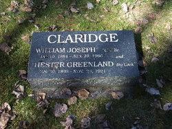 Hester <i>Greenland</i> Claridge