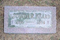 Lucinda <i>Ruperd</i> Beard