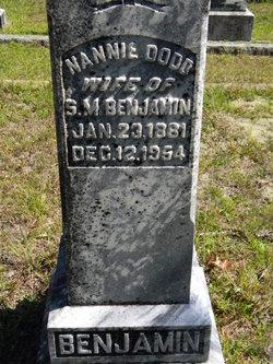 Nannie Owen <i>Dodd</i> Benjamin