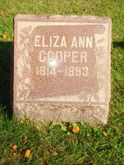 Eliza Ann <i>Gordon</i> Cooper