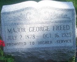 Maj Lars George Freed