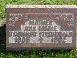 Ann Marie <i>O'Connor</i> Fitzgerald