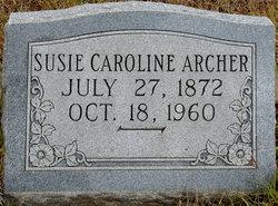 Susan Caroline Susie <i>McCammon</i> Archer