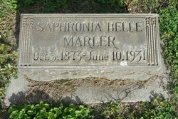 Saphronia Belle <i>Ijames</i> Marler