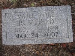 Mable Oree <i>Capps</i> Rumfield