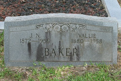 Vallie Ada <i>Beck</i> Baker
