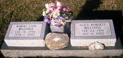 Alice Faye <i>Roberts</i> Billings