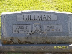 Mary Jane <i>Loper</i> Gillman