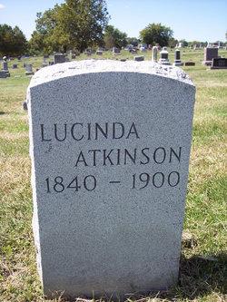 Lucinda <i>Moorehead</i> Atkinson