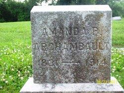Amanda Theresa <i>Perry</i> Archambault