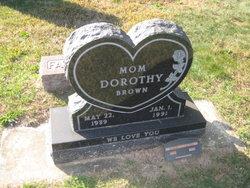 Dorothy <i>Ramer</i> Brown