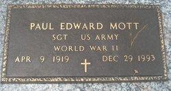 Sgt Robert Edward Mott