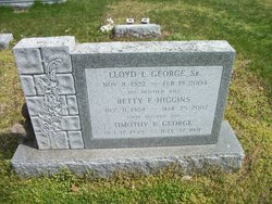 Betty F. <i>Higgins</i> George