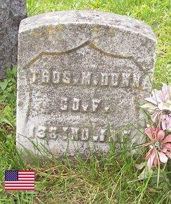 Pvt Thomas M. Dunn
